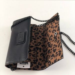 e9b9c7c09e8ef9 Vans Bags - Vans Chained Reaction Black Leopard Wallet